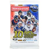 2017 Panini Rookies & Stars Football Retail Pack (Lot of 24)