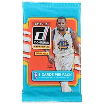 2017/18 Panini Donruss Basketball Retail Pack (Lot of 24)