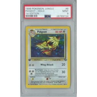 Pokemon Jungle 1st Edition Pidgeot 8/64 PSA 9