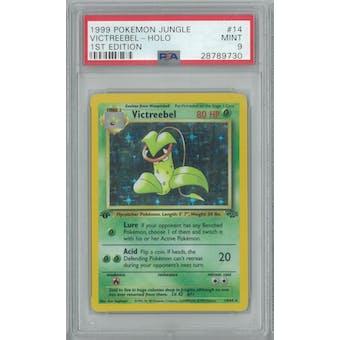 Pokemon Jungle 1st Edition Victreebel 14/64 PSA 9