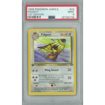 Pokemon Jungle 1st Edition Pidgeot 24/64 PSA 9