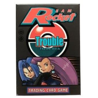 Pokemon Team Rocket Trouble Theme Deck