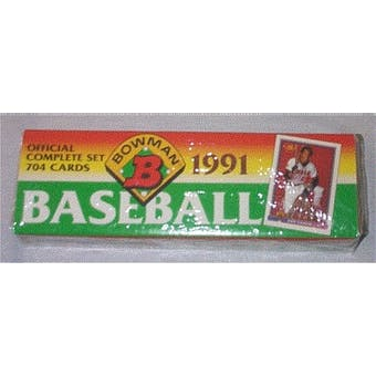 1991 Bowman Baseball Factory Set