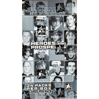 2006/07 In The Game Heroes & Prospects Arena Hockey 24 Pack Box