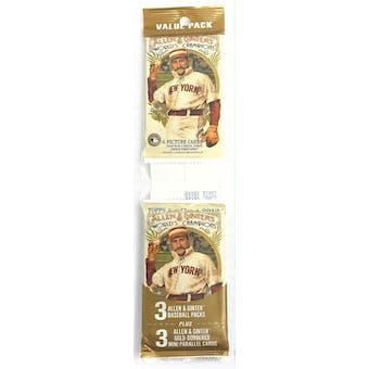 2012 Topps Allen & Ginter Baseball Jumbo Fat Pack