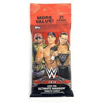 2018 Topps WWE Wrestling Jumbo Value 21-Card Pack