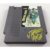Nintendo (NES) Metal Gear AVGN James Rolfe Yellow Autograph Cart