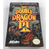 Nintendo (NES) Double Dragon III AVGN James Rolfe Red Autographed Box Complete