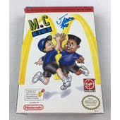 Nintendo (NES) M.C. Kids AVGN James Rolfe Blue Autograph Box Complete