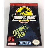 Nintendo (NES) Jurassic Park AVGN James Rolfe Yellow Autograph Box Complete