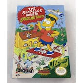 Nintendo (NES) The Simpsons VS. The Space Mutants AVGN James Rolfe Yellow Autograph Box Complete