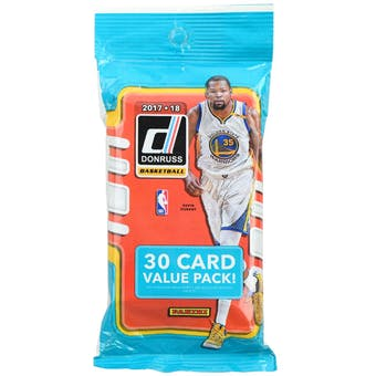 2017/18 Panini Donruss Basketball Jumbo Pack