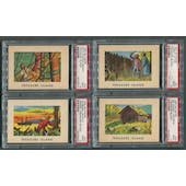 1960 Buymore Treasure Island Complete Set (NM-MT) With PSA Graded Cards
