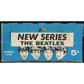 1964 Topps Beatles B&W New Series 5-Cent Display Box