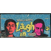 1968 Topps Rowan & Martin's Laugh In 5-Cent Display Box