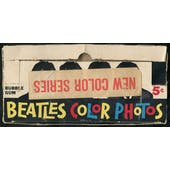 1964 Topps Beatles Color Photos 5-Cent Display Box