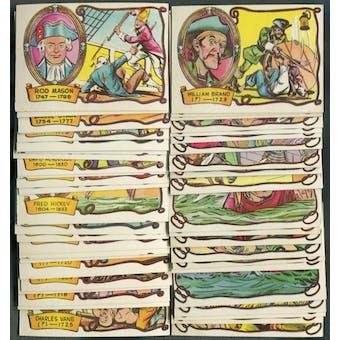 1961 Fleer Pirates Bold Complete Set (NM)