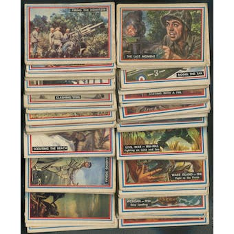 1953 Topps Fighting Marines Complete Set (GOOD)