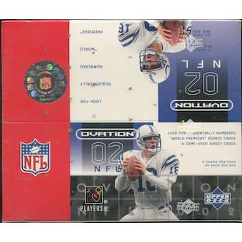 2002 Upper Deck Ovation Football Hobby Box