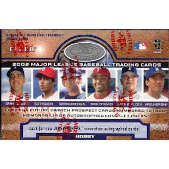 2002 Fleer Hot Prospects Baseball Hobby Box