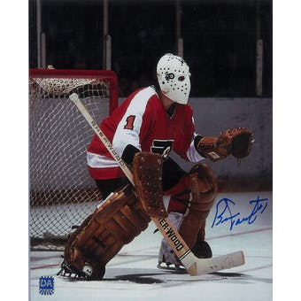 Bernie Parent Autographed Philadelphia Flyers 8x10 Photo (DACW COA)