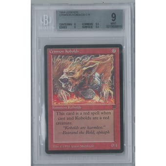 Magic Legends Crimson Kobolds BGS 9 (9, 9.5, 9, 9.5)