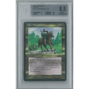 Magic Italian Legends Adun Oakenshield BGS 8.5 (8, 9.5, 9, 9.5)