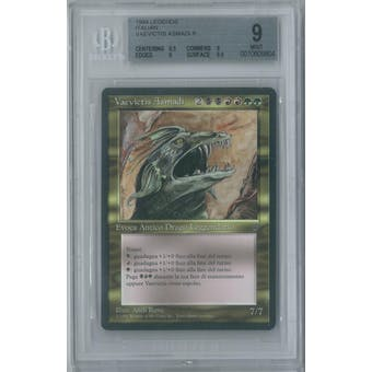 Magic Italian Legends Vaevictis Asmadi BGS 9 (9.5, 9, 9, 9.5)
