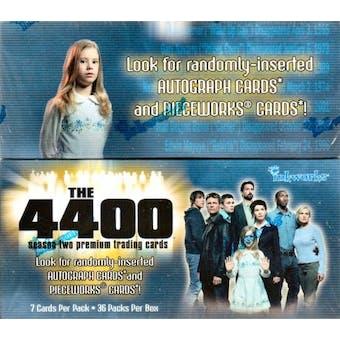 The 4400 Season Two Hobby Box (2007 InkWorks)