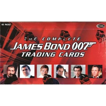 The Complete James Bond 007 Trading Cards Box (Rittenhouse 2007)