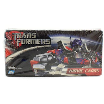 Transformers Movie Hobby Box (2007 Topps)
