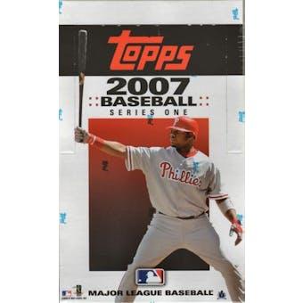 2007 Topps Series 1 Baseball 36 Pack Box