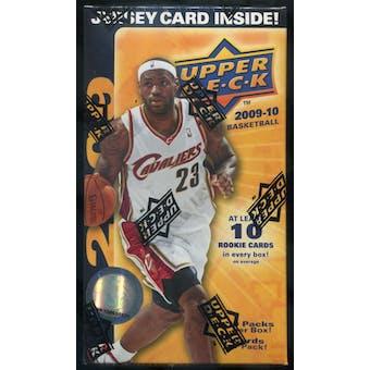 2009/10 Upper Deck Basketball 10-Pack Blaster Box