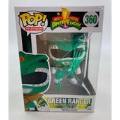 Power Rangers Green Ranger Funko POP Autographed by Jason David Frank