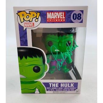 Marvel Hulk Funko POP Autographed by Lou Ferrigno