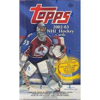 2002/03 Topps Hockey Hobby Box