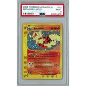 Pokemon Aquapolis Arcanine H2/H32 PSA 9