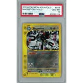 Pokemon Aquapolis Magneton H16/H32 PSA 10 GEM MINT