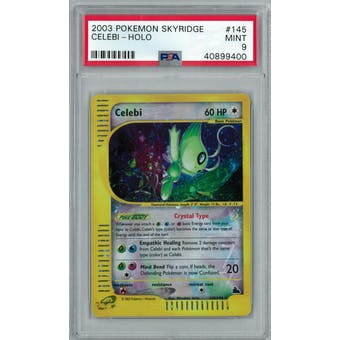 Pokemon Skyridge Celebi 145/144 PSA 9