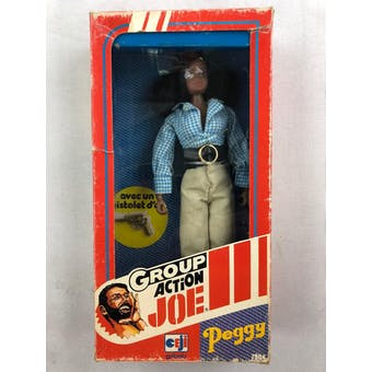 "Action Joe ""Peggy"" Figure with Original Box"