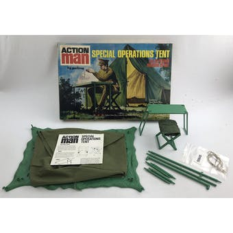 Action Man Special Operations Tent in Original Box