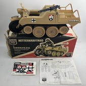 Cherilea Toys German Half-Track Vehicle in Original Box