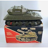 Action Man Cherilea BIG 12 Series Viper Tank with Box