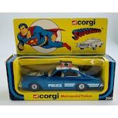 Corgi 260 Superman Metropolis Patrol Car Boxed
