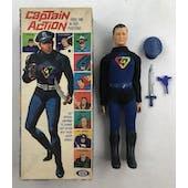 Ideal Captain Action Figure in Original Box