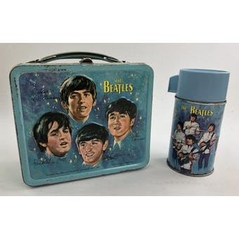 1965 Beatles Lunch Box with Thermos