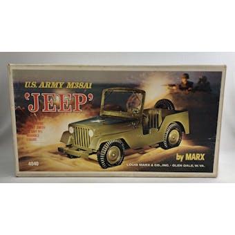 Marx US Army Jeep with Original Box