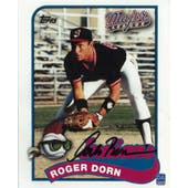 Corbin Bernsen Autographed Major League Card 8x10 Photo
