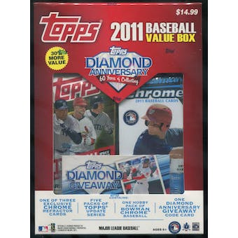 2011 Topps Baseball Value Box Mike Trout!!!!