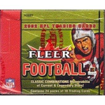 2002 Fleer Football Hobby Box